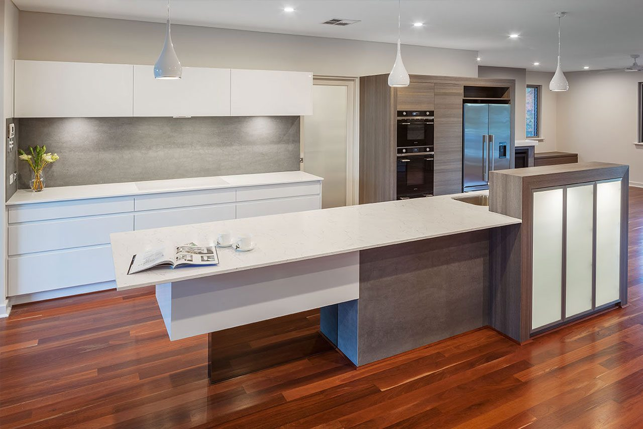 Groutless Tiles In Perth Porcelain Splashback Tiles Wa Glasskote